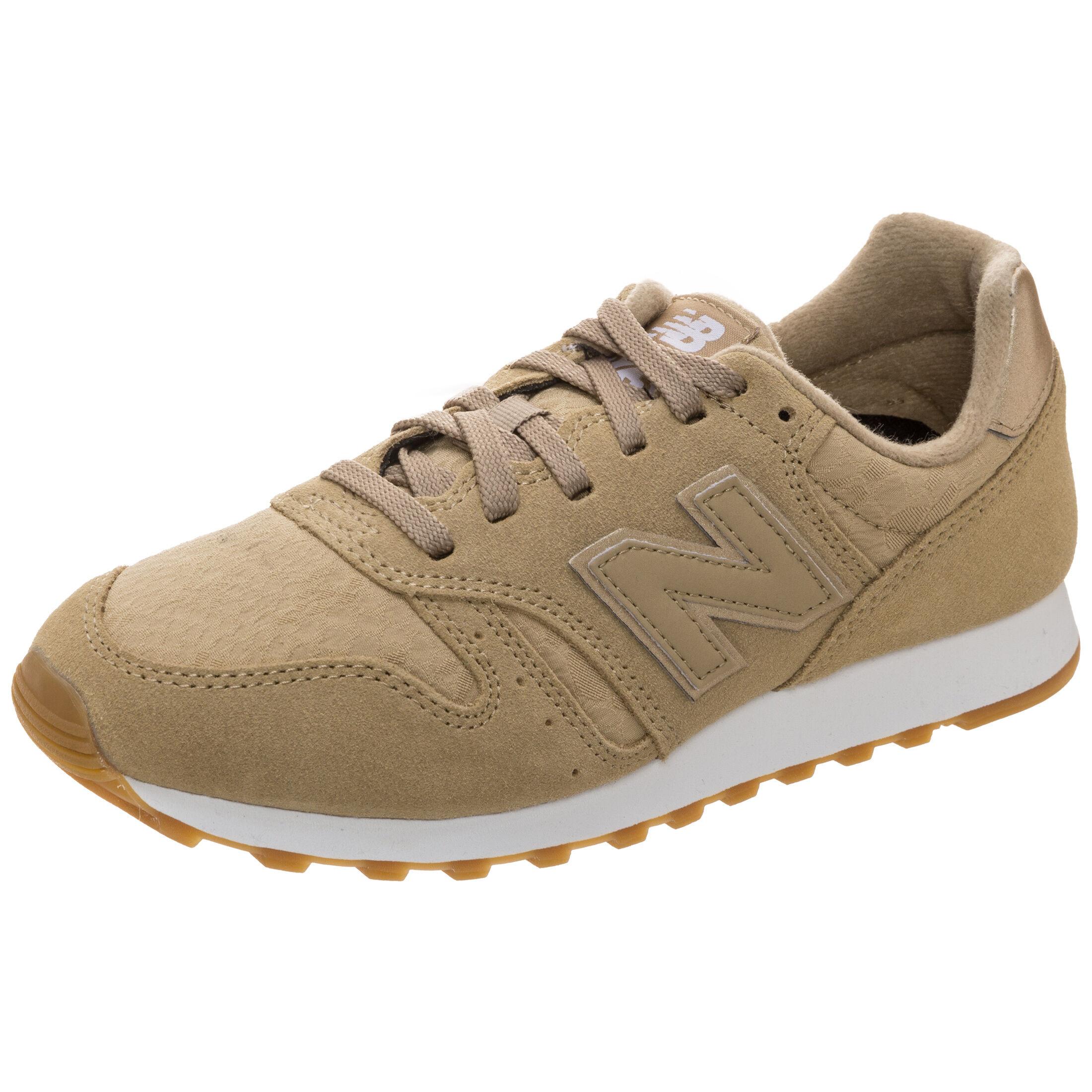 New Balance »Wl373-oit-b« Sneaker, braun, hellbraun-beige