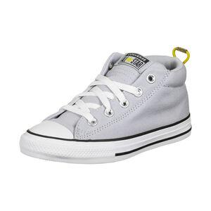 Chuck Taylor All Star Street Mini Wordmark Sneaker Kinder, grau / gelb, zoom bei OUTFITTER Online