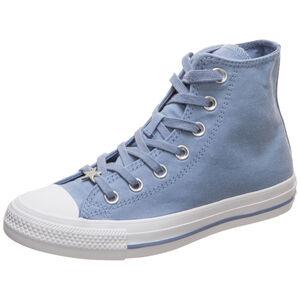 Chuck Taylor All Star High Sneaker Damen, blau / weiß, zoom bei OUTFITTER Online