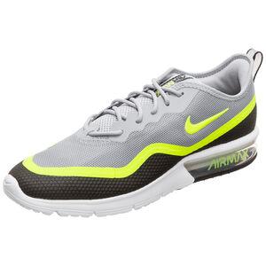Air Max Sequent 4.5 SE Sneaker Herren, grau / neongelb, zoom bei OUTFITTER Online