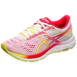 GEL-EXCITE 6 Laufschuh Damen, weiß / rot, zoom bei OUTFITTER Online