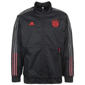 FC Bayern München Anthem Jacke Herren, dunkelblau / rot, zoom bei OUTFITTER Online