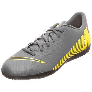 Mercurial VaporX XII Club Indoor Fußballschuh Herren, dunkelgrau / gelb, zoom bei OUTFITTER Online