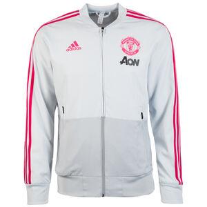 Manchester United Trainingsjacke Herren, grau / rot, zoom bei OUTFITTER Online