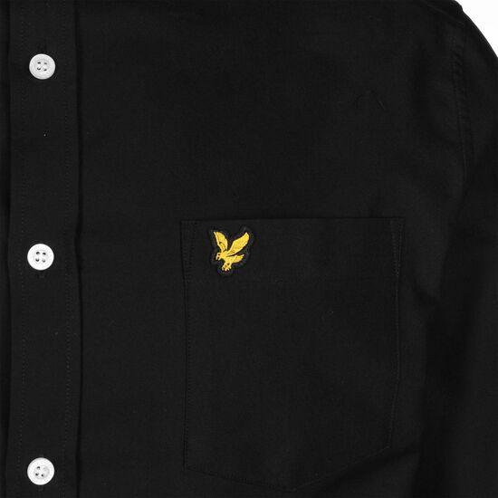 Oxford Hemd Herren, schwarz, zoom bei OUTFITTER Online