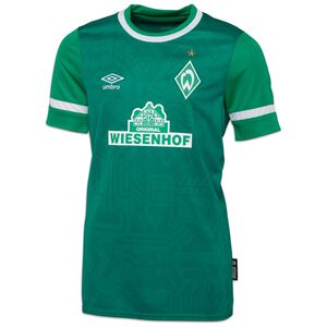 SV Werder Bremen Trikot Home 2021/2022 Kinder, grün / weiß, zoom bei OUTFITTER Online