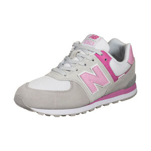 574 Sneaker Kinder, grau / rosa, zoom bei OUTFITTER Online