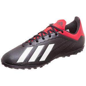 X 18.4 TF Fußballschuh Herren, schwarz / rot, zoom bei OUTFITTER Online
