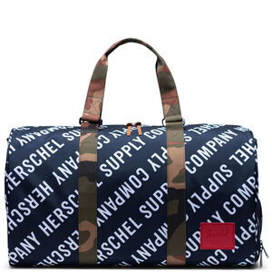 Novel Duffel Tasche, blau / weiß, zoom bei OUTFITTER Online