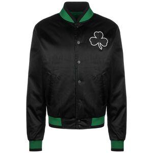 NBA Boston Celtics Courtside Reversible Jacke Herren, schwarz / grün, zoom bei OUTFITTER Online
