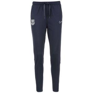 FC Barcelona Travel Fleece Trainingshose Damen, dunkelblau / weiß, zoom bei OUTFITTER Online