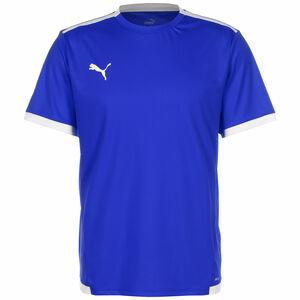 TeamLIGA Fußballtrikot Herren, blau / weiß, zoom bei OUTFITTER Online