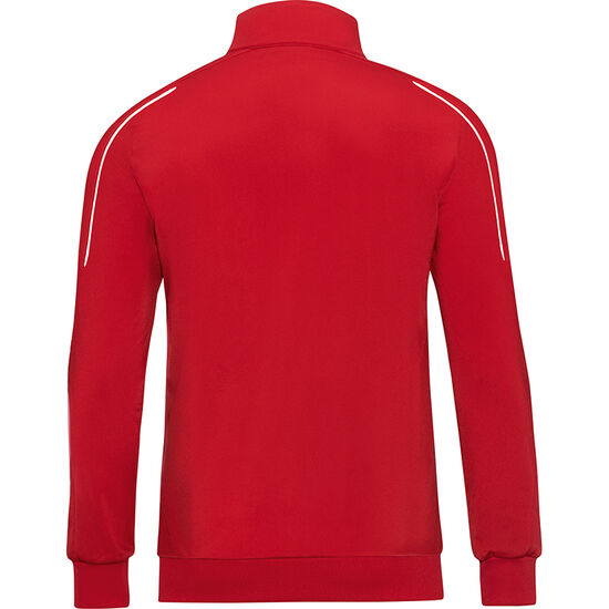 Classico Polyester Trainingsjacke Herren, rot / weiß, zoom bei OUTFITTER Online