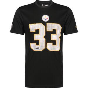NFL Pittsburg Steelers Supporters T-Shirt Herren, schwarz / weiß, zoom bei OUTFITTER Online