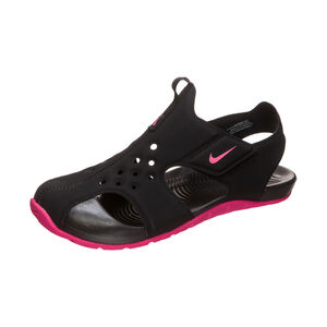 Sunray Protect 2 Badesandale Kinder, schwarz / pink, zoom bei OUTFITTER Online