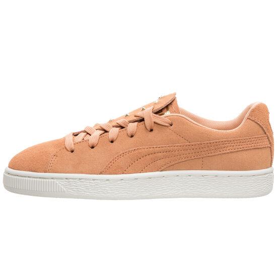 Suede Crush Studs Sneaker Damen, braun, zoom bei OUTFITTER Online