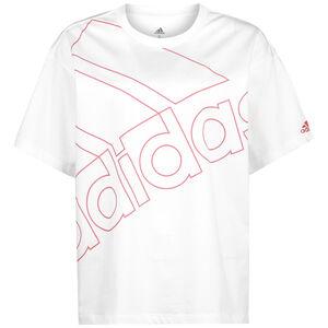 Giant Logo T-Shirt Damen, weiß / rosa, zoom bei OUTFITTER Online