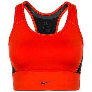 Swoosh Pocket Sport-BH Damen, Rot, zoom bei OUTFITTER Online