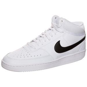 Court Vision Mid Sneaker Herren, weiß / schwarz, zoom bei OUTFITTER Online