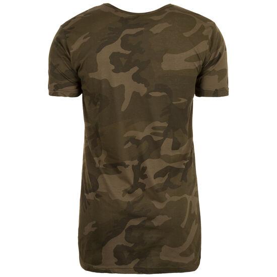 Camo Shaped Long T-Shirt Herren, Grün, zoom bei OUTFITTER Online