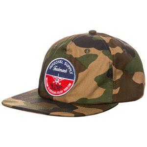 172 Strapback Cap, braun / grün, zoom bei OUTFITTER Online