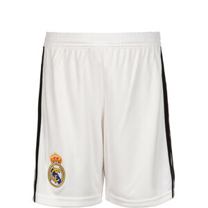 Real Madrid Short Home 2018/2019 Kinder, Weiß, zoom bei OUTFITTER Online