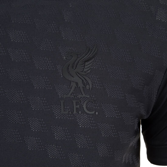 FC Liverpool Vector Speed Trainingsshirt Herren, schwarz, zoom bei OUTFITTER Online