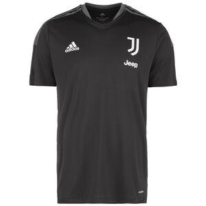 Juventus Turin Trainingsshirt Herren, grau / weiß, zoom bei OUTFITTER Online