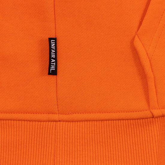 Unfair Classic Label Kapuzenpullover Herren, orange / weiß, zoom bei OUTFITTER Online
