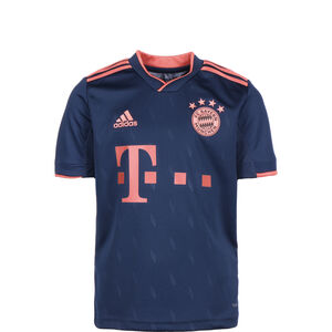 FC Bayern München Trikot 3rd 2019/2020 Kinder, dunkelblau / rot, zoom bei OUTFITTER Online