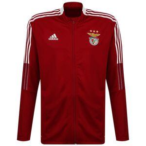 Benfica Lissabon Trainingsjacke Herren, rot / weiß, zoom bei OUTFITTER Online