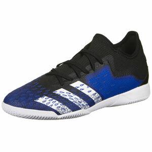 Predator Freak .3 L Indoor Fußballschuh Herren, schwarz / blau, zoom bei OUTFITTER Online