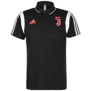 Juventus Turin Cotton Poloshirt Herren, schwarz / grau, zoom bei OUTFITTER Online