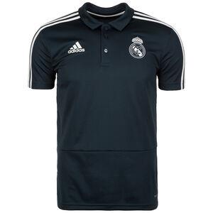 Real Madrid Poloshirt Herren, anthrazit / weiß, zoom bei OUTFITTER Online