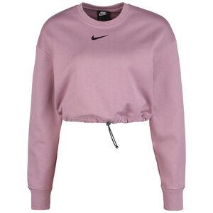 Swoosh Crew Sweatshirt Damen, rosa / schwarz, zoom bei OUTFITTER Online
