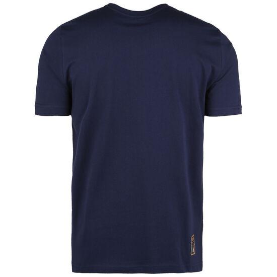 FIGC Italien DNA T-Shirt EM 2021 Herren, dunkelblau / gold, zoom bei OUTFITTER Online