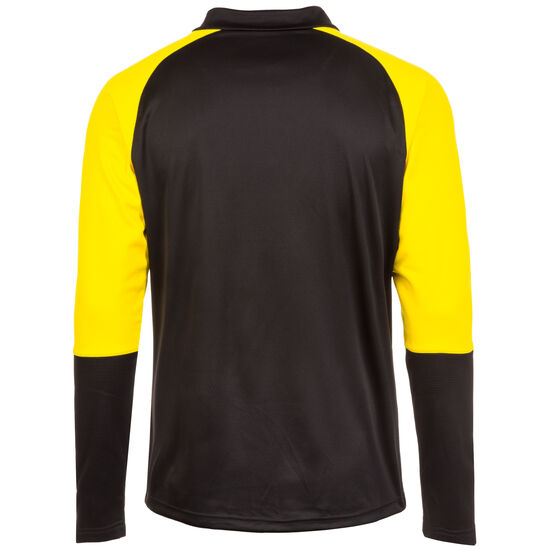 Cup 1/4 Zip Trainingsshirt Herren, schwarz / gelb, zoom bei OUTFITTER Online