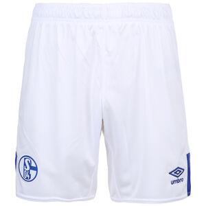FC Schalke 04 Short Home 2019/2020 Herren, weiß / blau, zoom bei OUTFITTER Online