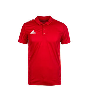 Core 18 Poloshirt Kinder, rot / weiß, zoom bei OUTFITTER Online