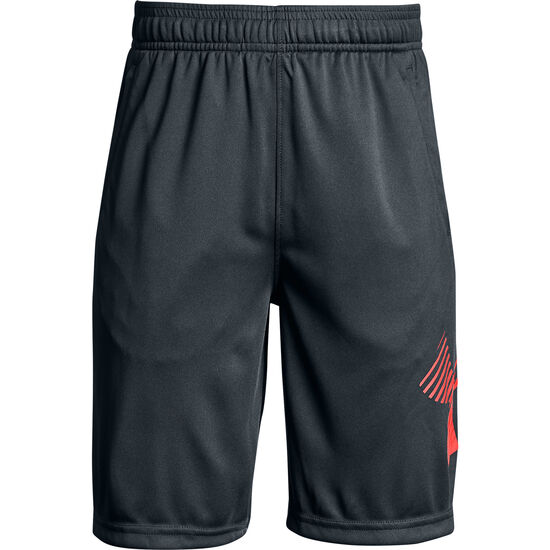 Renegade Solid Trainingsshort Kinder, grau / orange, zoom bei OUTFITTER Online