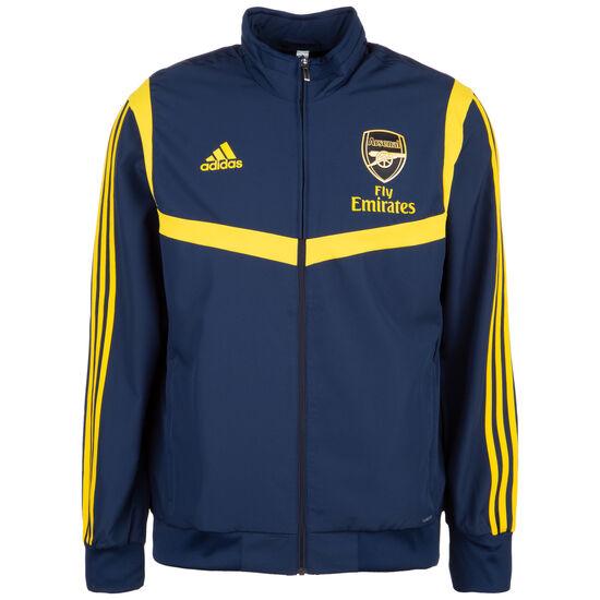 FC Arsenal Ultimate Präsentationsjacke Herren, dunkelblau / gelb, zoom bei OUTFITTER Online