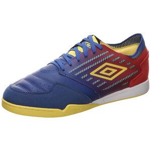 Chaleira II Pro Indoor Fußballschuh Herren, blau / gelb, zoom bei OUTFITTER Online