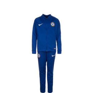 FC Chelsea Dry Squad Trainingsanzug Kinder, Blau, zoom bei OUTFITTER Online