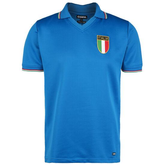Italien World Cup 1982 Retro T-Shirt Herren, blau, zoom bei OUTFITTER Online
