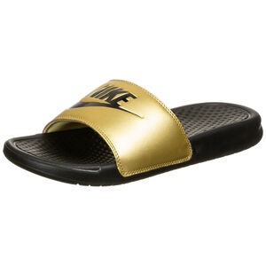 Benassi Just Do It Badesandale Damen, schwarz / gold, zoom bei OUTFITTER Online