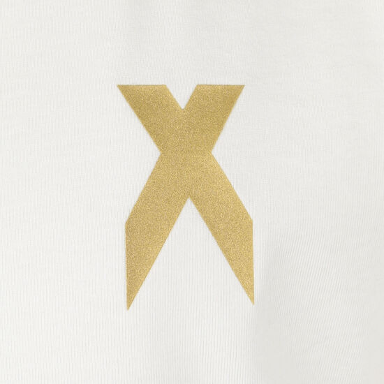 Football-Inspired X Aeroready T-Shirt Kinder, weiß / schwarz, zoom bei OUTFITTER Online