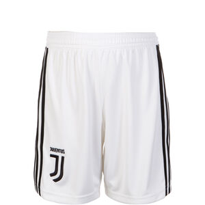 Juventus Turin Short Home 2018/2019 Kinder, Weiß, zoom bei OUTFITTER Online