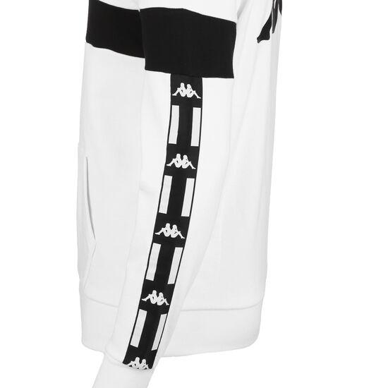 Authentic La Caspor Kapuzenpullover Herren, weiß / schwarz, zoom bei OUTFITTER Online