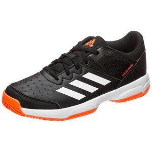 Court Stabil Handballschuh Kinder, schwarz / orange, zoom bei OUTFITTER Online