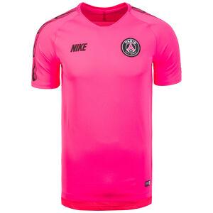 Paris St. Germain Breathe Squad Trainingsshirt Herren, pink / schwarz, zoom bei OUTFITTER Online